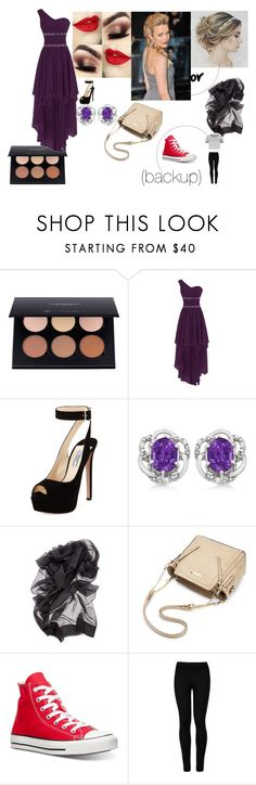 Prom + The AfterParty by angleighgab on Polyvore featuring WithChic, Wolford, Converse, Prada, Allurez and promseason