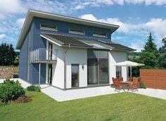 Architektenhaus Kopenhagen - Einfamilienhaus mit Pultdach