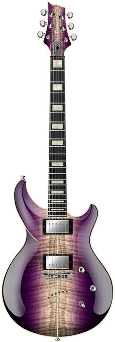 2015 Diamond Guitars Monarch FM - Amethyst Natural Burst Electric Guitar