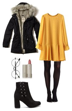"""Senza titolo #18"" by fuyumishikato on Polyvore featuring moda, Chicnova Fashion, Hollister Co., SPANX e Ilia"