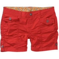No Boundaries Juniors Rouched Woven Poplin Shorts