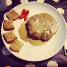 Filetto in salsa di legumi