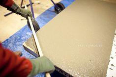 How To: DIY Concrete Countertops