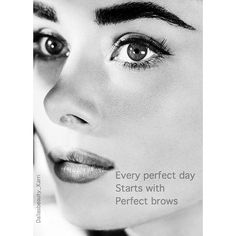 Feel fabulous with your perfect brows and have a browtastic day!!! #dallasbeautylounge #browperfection #browsbykarri #billiondollarbrows #bdb #audreyhepburn #browtastic by dallasbeauty_karri