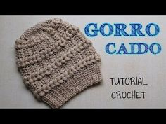 crocheters who love elegant and cute beanie hats have nice chance to learn how to crochet fantasy beanie hat in puff stitch. Puff Stitch Crochet, Crochet Cap, Crochet Stitches, Crochet Patterns, Crochet Beanie Hat, Knitted Hats, Crochet Videos, Crochet Accessories, Knitting
