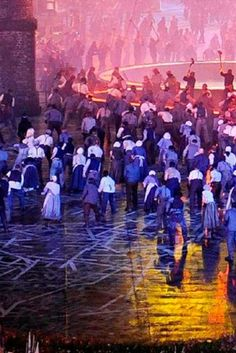 We are proud that Grabo show flooring provided the exciting background for the opening ceremony of the London Olympic games! London Olympic Games, Opening Ceremony, Vinyl Flooring, Olympics, Concert, Vinyl Floor Covering, Concerts