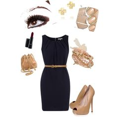 Summer business casual - Polyvore (if i start wearing dreses)