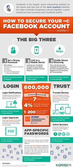 SOCIAL MEDIA -         How to secure your #Facebook account.