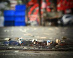 "Slinkachu - ""The Food Chain"" Global Model Village Show 2012, Andipa Gallery London"