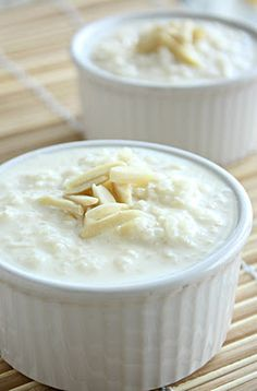 Kheer--Indian rice pudding..sooooo good.