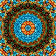 Mandala-Selbsterkenntnis van Marion Tenbergen  Réépinglé à partir de Denise Gendron mandela