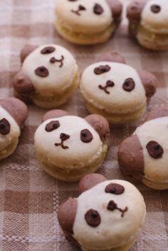 Panda Bear Macaron, Japanese Recipe