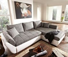 Home Decor Ideas Sofa Design, Interior Design, Canape D Angle Design, Moderne Couch, Couches For Small Spaces, Couch Cushions, Deco Design, Cool House Designs, Living Room Modern
