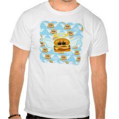 Cheeseburger Heaven Tee Shirts