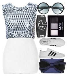 """""""It Keeps Me Up At Night"""" by egordon2 ❤ liked on Polyvore featuring Alaïa, Rodarte, adidas, Tom Ford and NYX"""