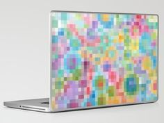 Hip to be Square    by Catherine Holcombe  Laptop & iPad Skin
