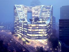 Infinity by Crown by Koichi Takada Architects, community center for Sydney's green square town center, new public space for Sydney's green s...