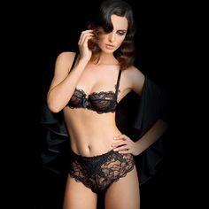 Brand Intimates Ultra Slim Lingerie Set Lace Bra Brief Sets Women Sexy  Underwear Set Transparent Bra Set c0077a1d0846