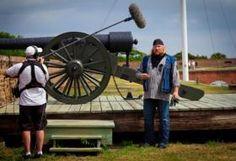 American Ride films at Ft Pulaski