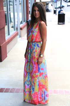 Diamond Back Maxi {Coral} | The Rage