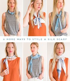Style Files: 6 (More) Ways to Style a Silk Scarf