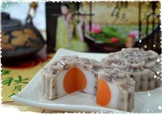 Red Bean Jelly Mooncake