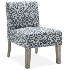 Found it at Wayfair - Paisley Slipper Chair in Blue http://www.wayfair.com/daily-sales/p/Exclusive-to-Wayfair-Furniture-Paisley-Slipper-Chair-in-Blue~ANDO1247~E20473.html?refid=SBP.rBAZEVShnHZziHZ8OI75AkyCYNhZQE_rpz-RcjvGq9Q