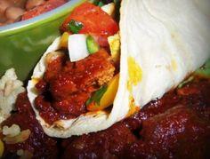 Tacos al Pastor HispanicKitchen.com