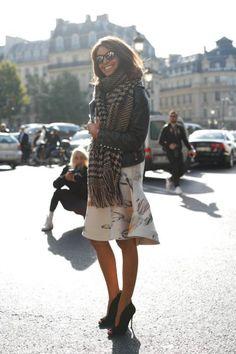 Viviana Volpicella at ParisFW