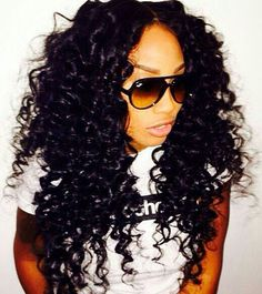 Long Curly Crochet Hair Styles : Prom hairstyle, but in crochet braids More