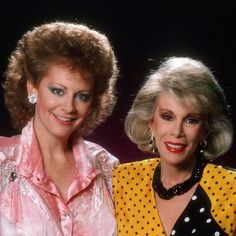 Reba McEntire #tbt Great memories of #joanrivers. Always so sweet to me. RIP. #throwbackthursday