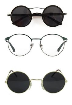 """""""glasses"""" by gb041112 ❤ liked on Polyvore featuring accessories, eyewear, sunglasses, glasses, accessories - glasses, black, vintage glasses, vintage inspired glasses, vintage style sunglasses and round sunglasses"""