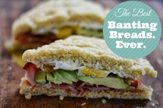 The Best Banting Breads. Ever. #banting #LCHF #bantingbread #timnoakes