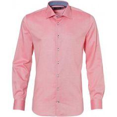 Jac Hensen overhemd - modern fit - koraal | Gratis verzending