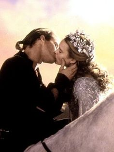 """Since the invention of the kiss, there have only been five kisses that were rated the most passionate, the most pure. This one left them all behind."" ~ The Princess Bride."