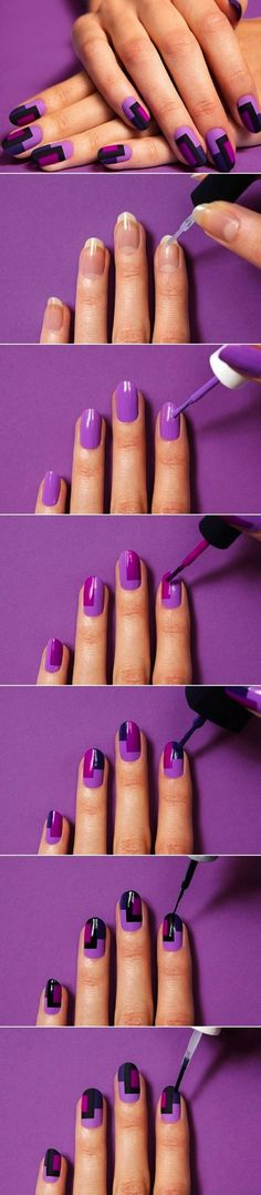 This is a nail tutorial for long nails!