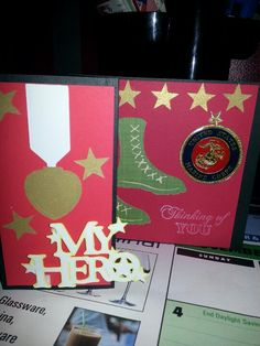 Thinking of U Card. Military