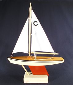 Pond Yacht model sailboat that actually by Constellpondyachts, $40.00