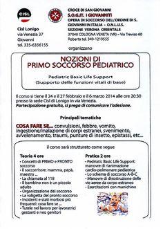 Primo soccorso pediatrico - Tumit Eventi
