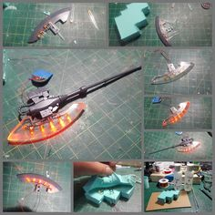I didn't get much work on this project this week. We had our broadcast and I did some work finishing up the other side of the Guntank's tracks, but more on that later. Starting off with… Gundam Vidar, Gundam Tutorial, Mecha Suit, Zeta Gundam, Gundam Mobile Suit, Gundam Custom Build, Modeling Techniques, Warhammer Models, Gundam Art