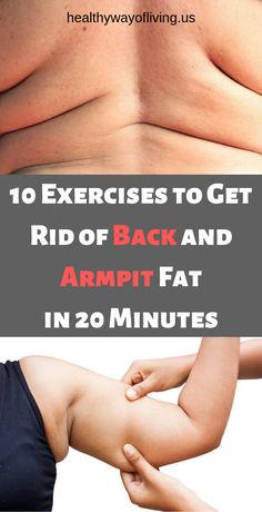 10 Exercises to Get Rid of Back and Armpit Fat in 20 Minutes !