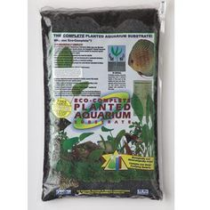 Carib sea Eco-complete black substrate for planted tanks. Pre-rinsed, and with essential live bacteria. This comes highly recommended by established aquascapers.