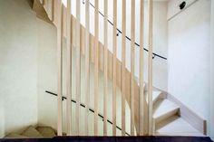 Točité drevené schodisko
