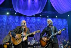 Willie Nelson and Kris Kristofferson perform during the 2013 Berklee College Of Music Commencement Concert at Berklee College of Music on May 10 in Boston.
