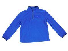 Eddie Bauer Boys Fleece Jacket 2T 1/4 Zip Long Sleeve Pocket Pullover Coat NEW