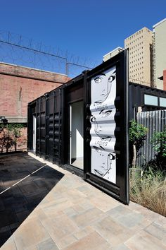 The renovation of a large industrial shed tucked away in Pretoria's CBD was carried out with a very light touch, providing amenities for its use as an events space while maintaining the integrity of the industrial fabric. Industrial Fabric, Industrial Sheds, Warehouse Design, Banks Building, Light Touch, Pretoria, Integrity, Architects, Events