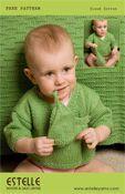 Cloud Cotton Boys Green Sweater EP09-09