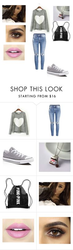 """""""Untitled #70"""" by luana-fernandez11 on Polyvore featuring H&M, Converse and Fiebiger"""