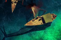 Magnificent but rather unsettling #illustrations by Sergey Kolesov.