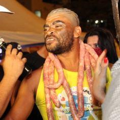 """A décima edição do concurso do homem """"mais feio do Brasil', realizada nesta semana em Contagem, na região metropolitana de Belo Horizonte, rese..."""